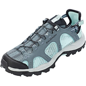 Salomon W's Techamphibian 3 Shoes Stormy Weather/Eggshell Blue/Black